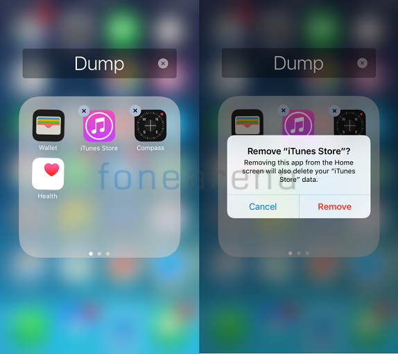 how to delete saves words on iphone