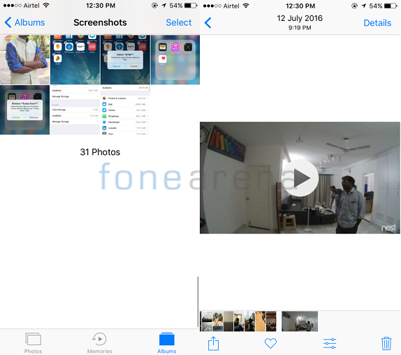 how to create memory video on iphone