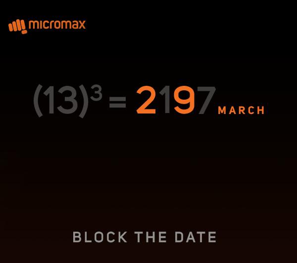 Micromax 29 March 2017 invite