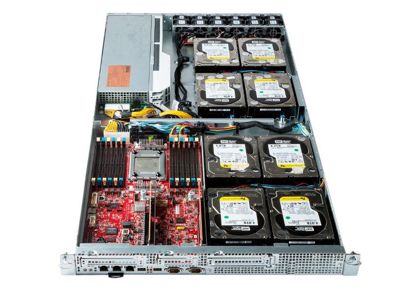 Microsoft Proj Olympus with Qualcomm Centriq 2400 Motherboard