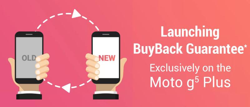 Moto G5 Plus BuyBack Guarantee Flipkart