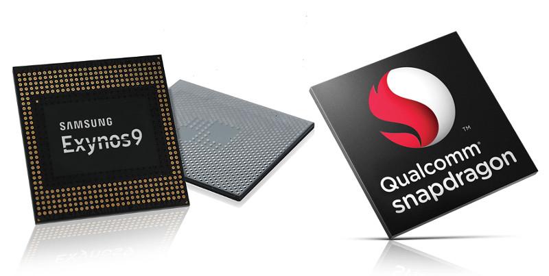 Samsung Exynos 9 and Qualcomm 10nm
