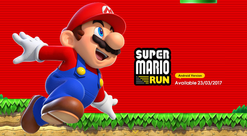Super Mario Run Android March 23