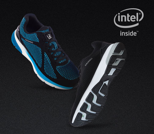 xiaomi s smart shoes powered by intel connects to mobile