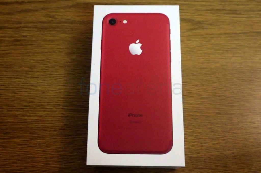 Apple iPhone 7 Red_fonearena-01