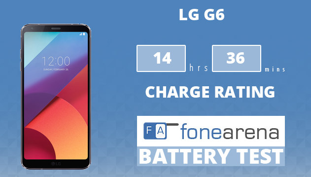 LG G6 FA One Charge Rating