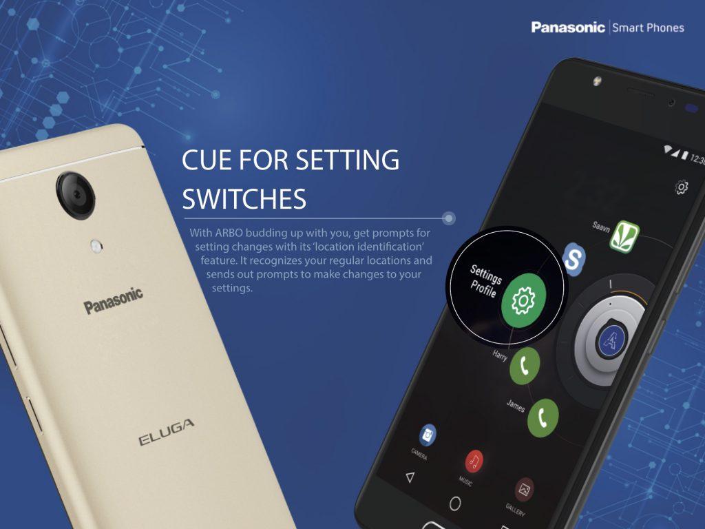 Panasonic Eluga Ray Max Arbo 2