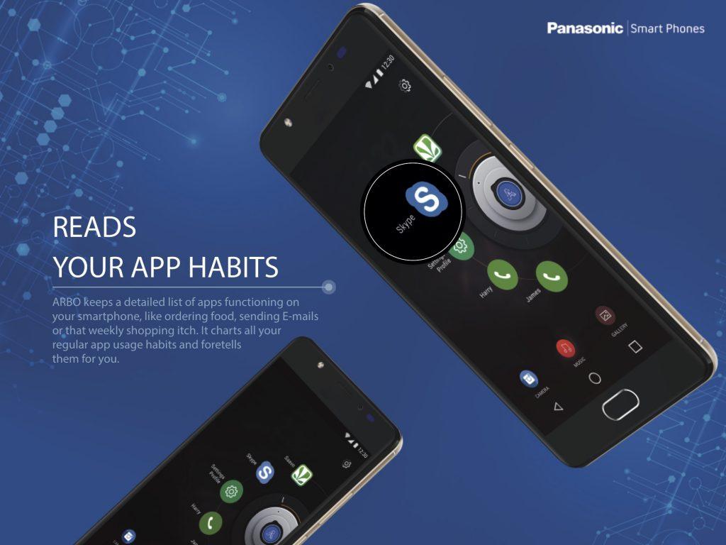 Panasonic Eluga Ray Max Arbo 3