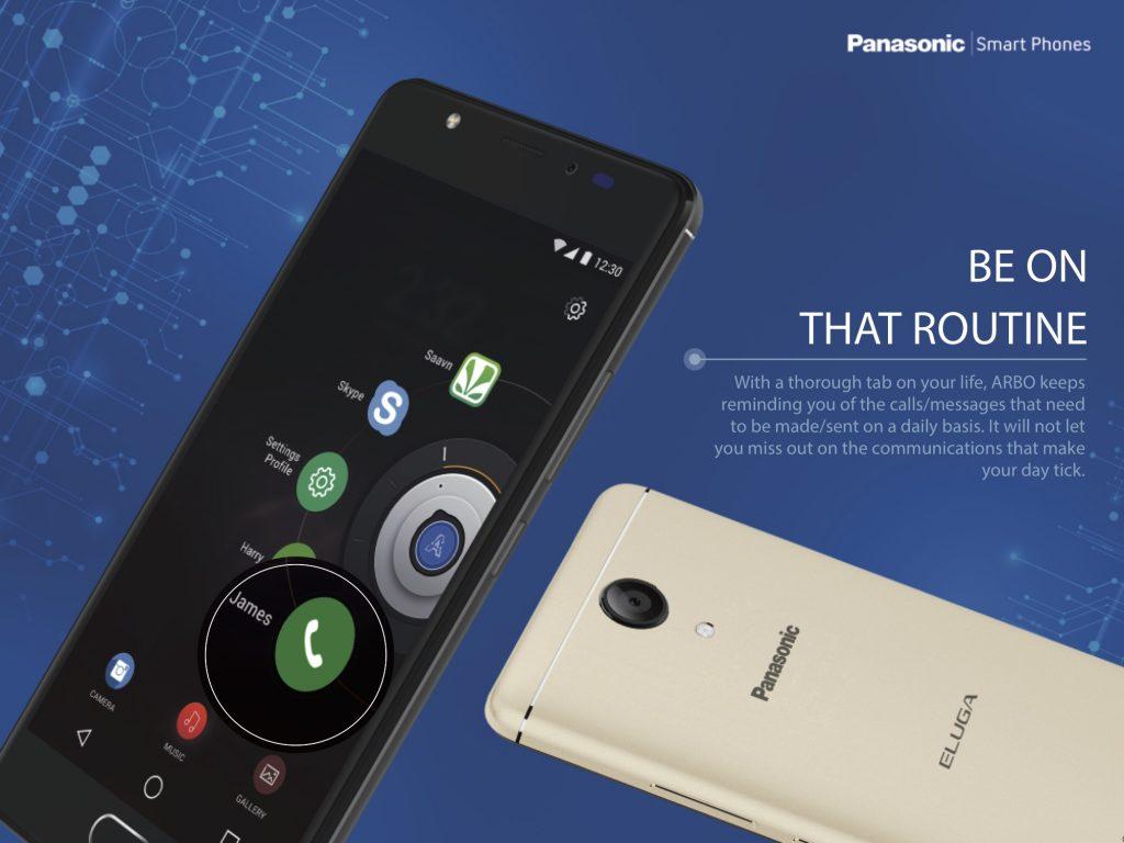 Panasonic Eluga Ray Max Arbo 4