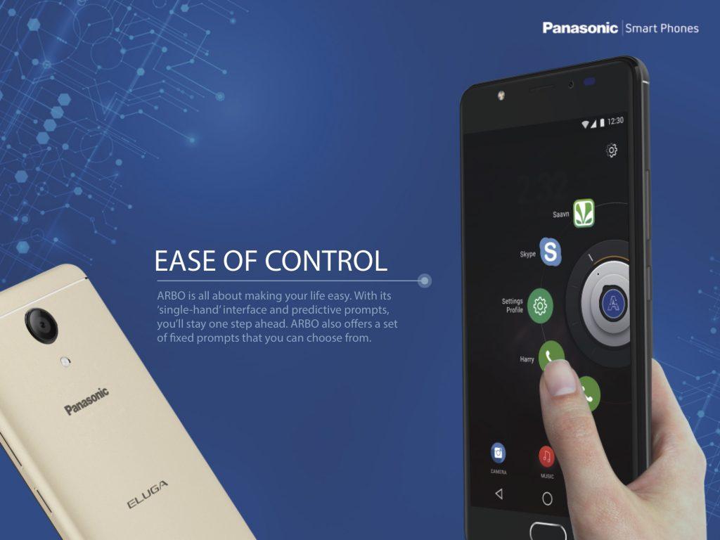 Panasonic Eluga Ray Max Arbo 7