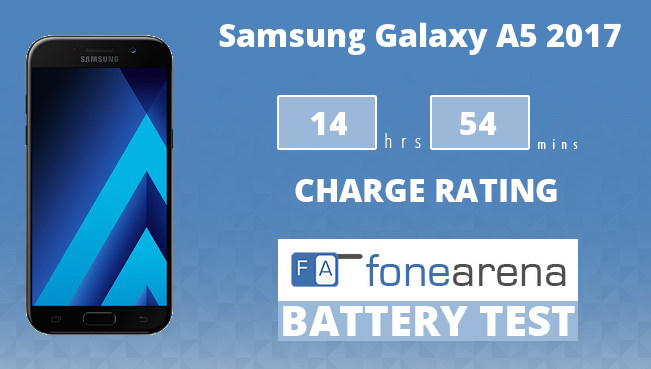 Samsung Galaxy A5 2017 FA One Charge Rating