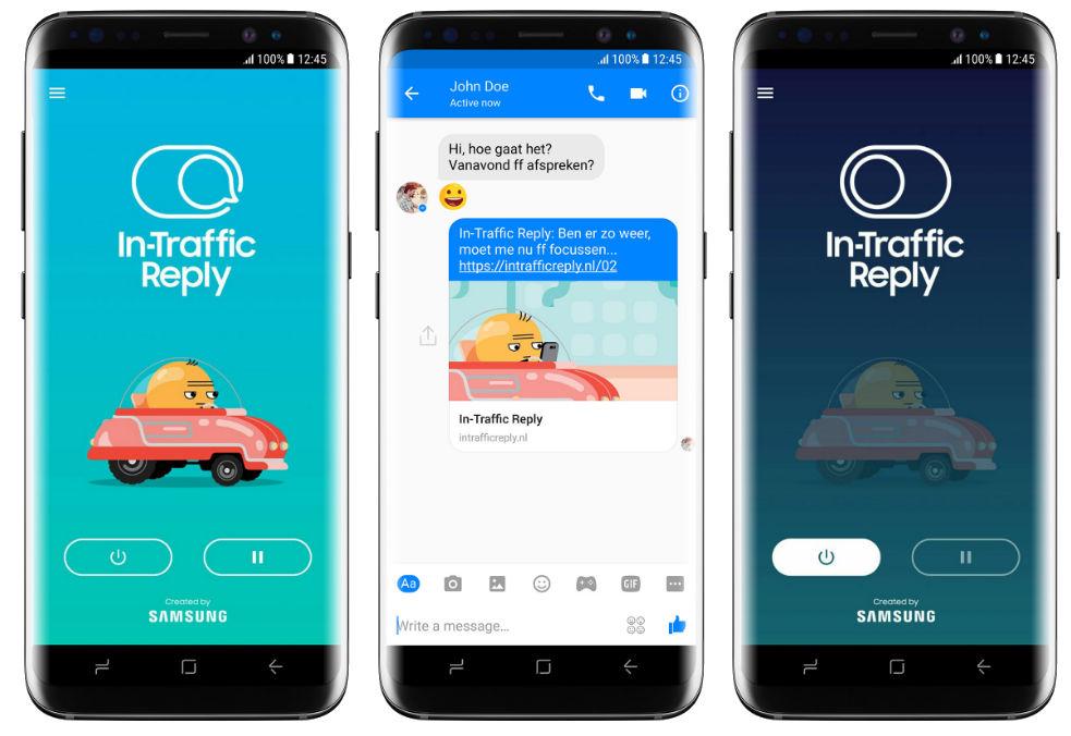 Samsung In-Traffic Reply