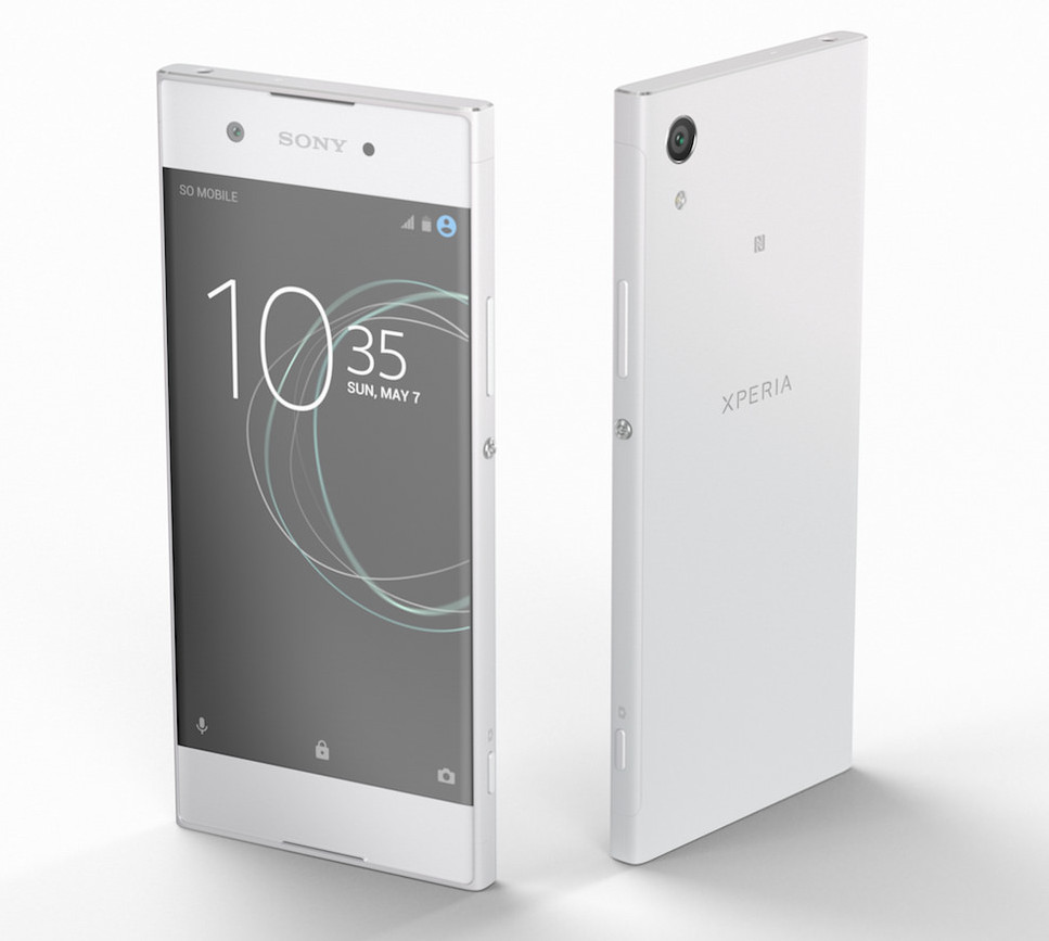 sony xperia xa1 with 5 inch edge to edge display 23mp. Black Bedroom Furniture Sets. Home Design Ideas