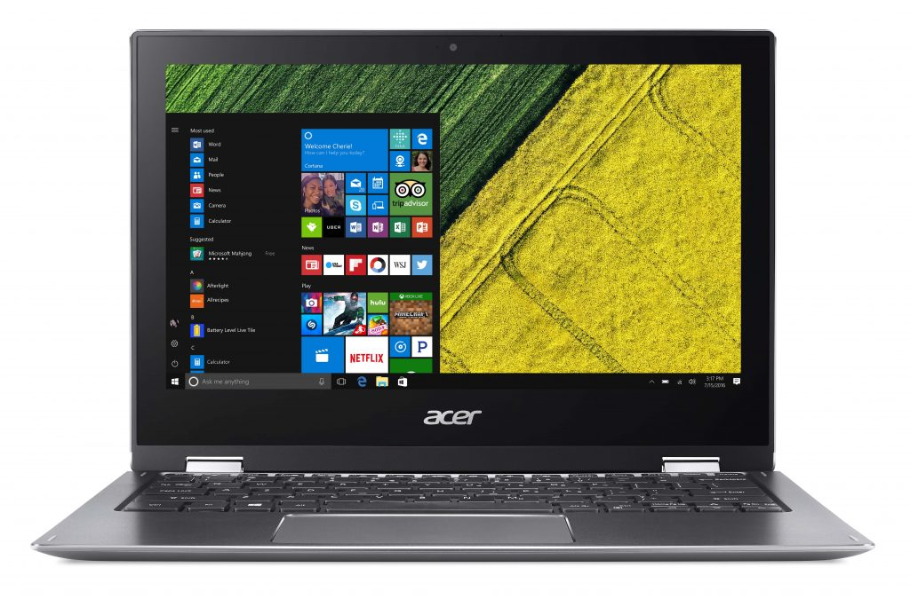 Acer Spin 1 Front view