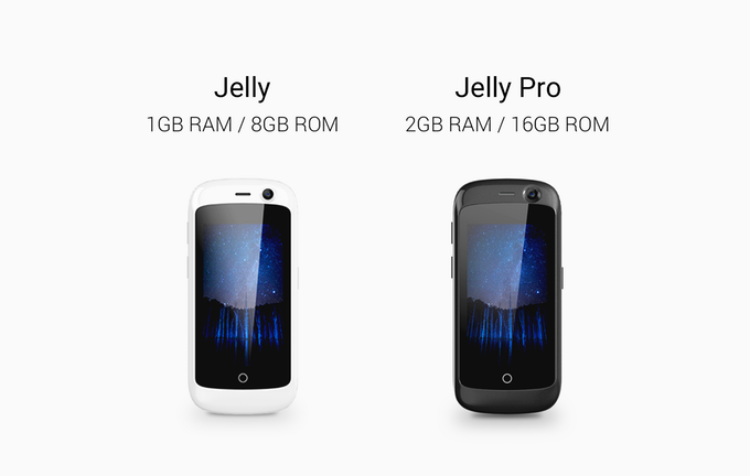 Jelly is the world's smallest 4G Android 7.0 Nougat smartphone