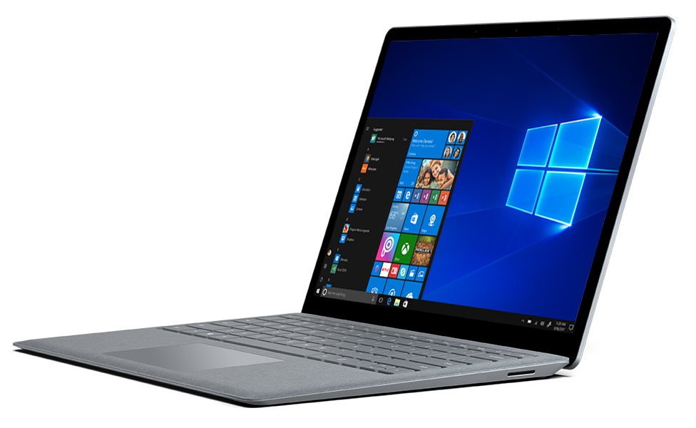 Microsoft Surface Laptop with 13.5-inch touchscreen ...