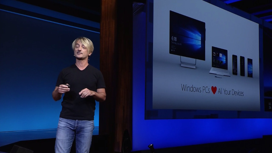 Microsoft Windows 10 Fall Creators Update Joe Belfiore