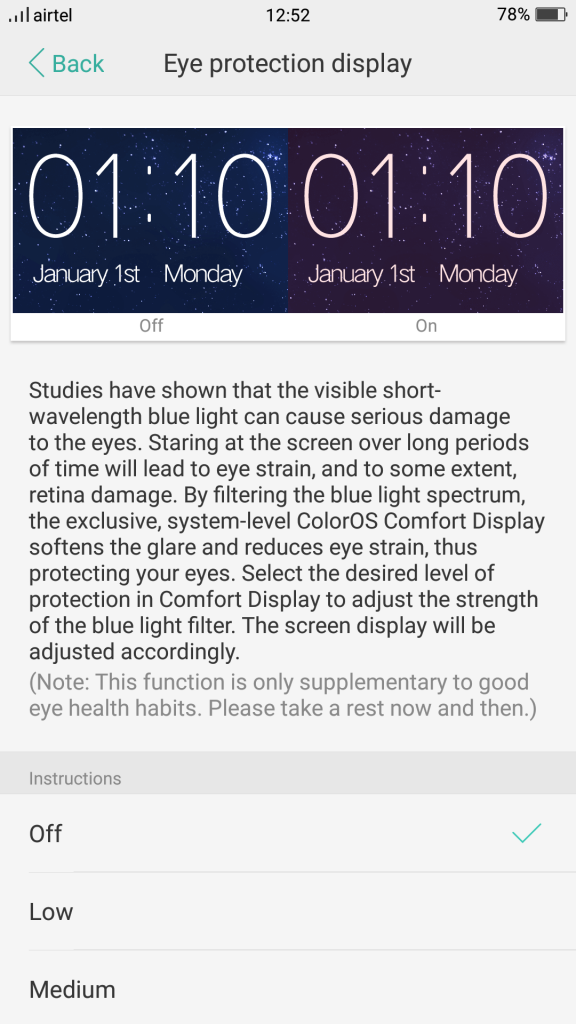 Oppo-F3-Eye-Protection-display
