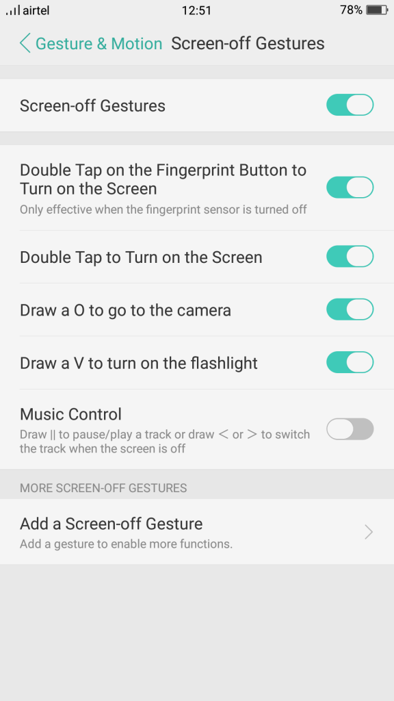 Oppo-F3-Gestures