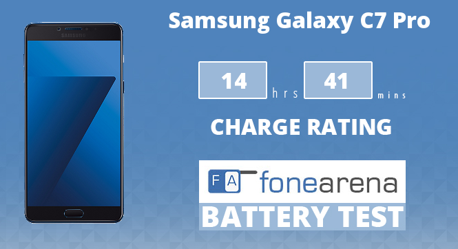 Samsung Galaxy C7 Pro FA One Charge Rating