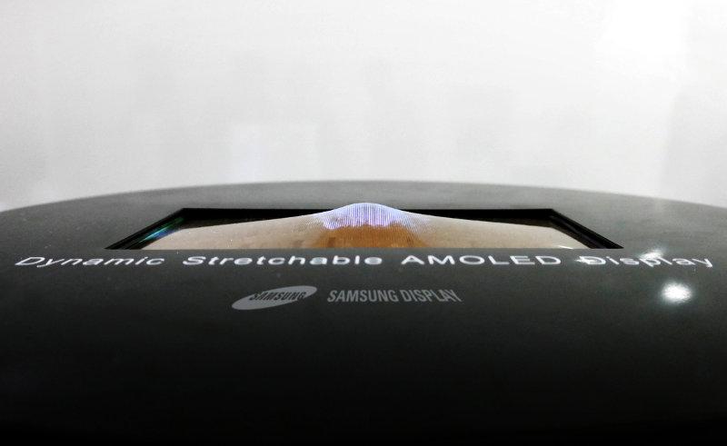 Samsung Stretchable AMOLED display