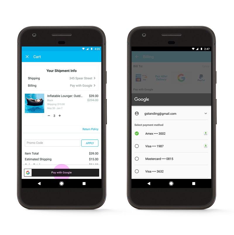google payments API