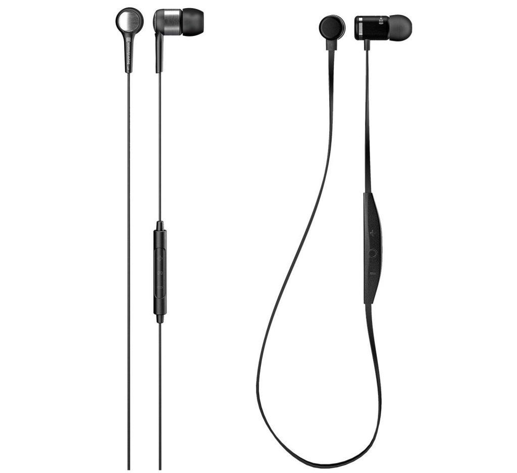 Beyerdynamic Byron in-ear wired headset and Byron BTA wireless headset