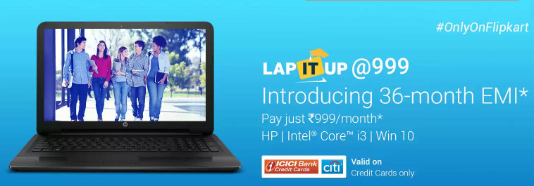 HP Imprint at Rs. 999 Flipkart
