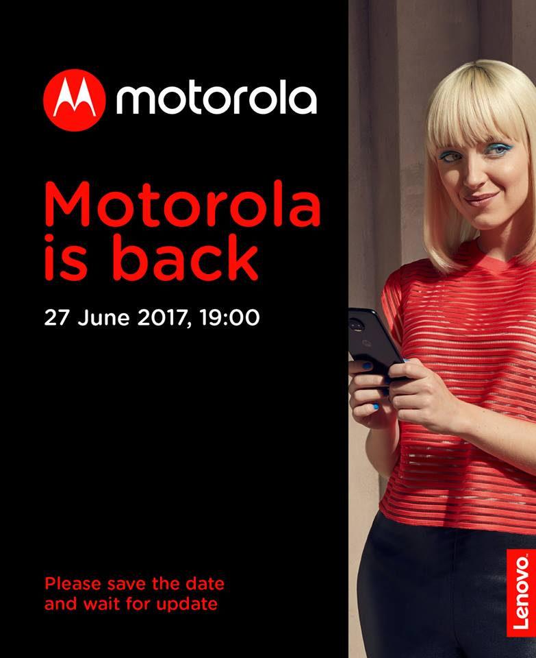 Motorola Russia June 27 event
