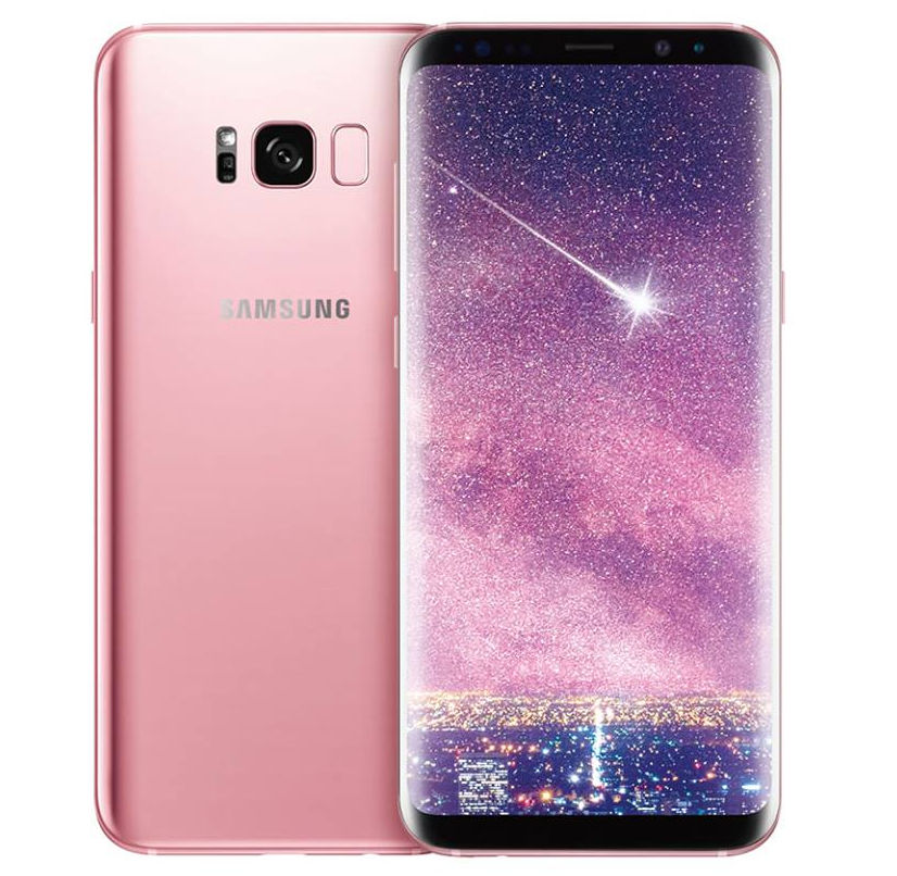 Rose Pink Samsung Galaxy S8 Plus
