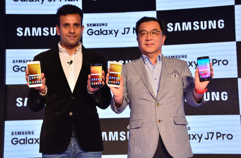 Samsung Galaxy J7 Pro and J7 Max India launch