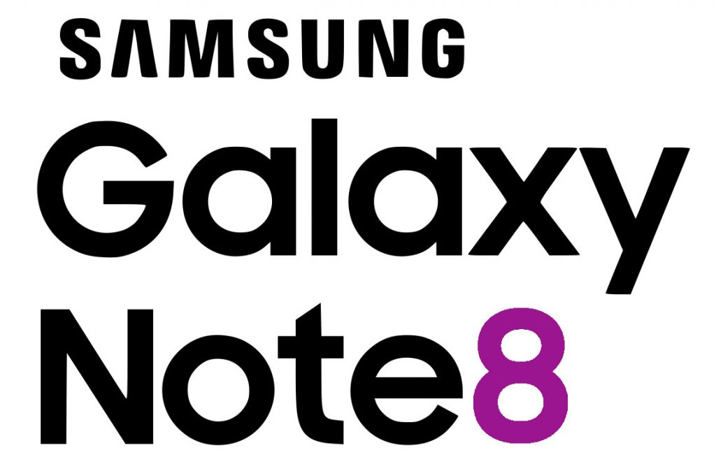 Samsung Galaxy Note8 logo