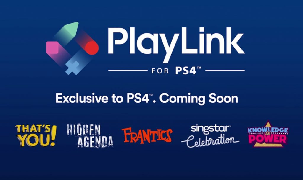 Sony PlayLink for PS4