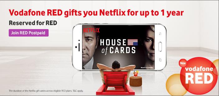 Vodafone RED Netflix