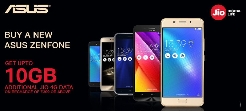 ASUS Jio offer
