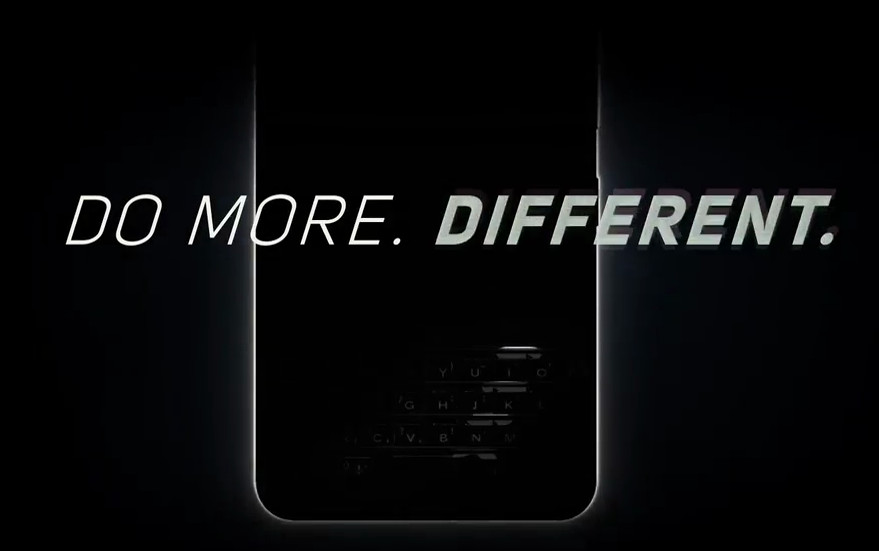 BlackBerry KeyONE teaser