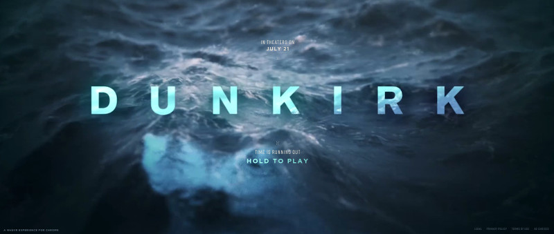 Dunkirk web VR game
