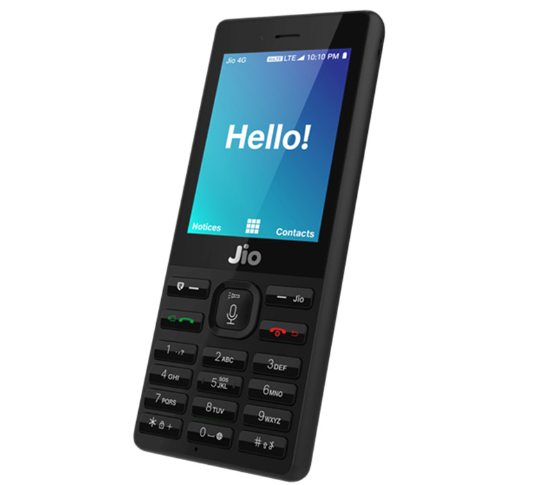 JioPhone is powered by Qualcomm 205 Mobile Platform
