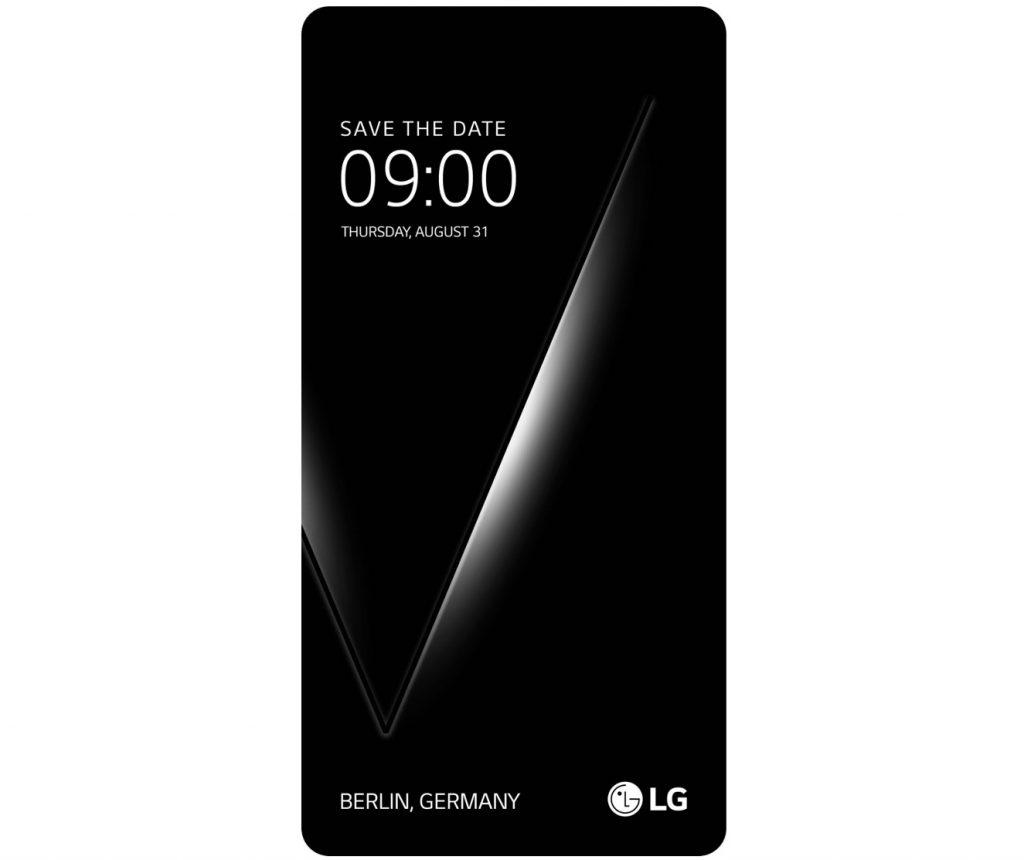LG V30 August 31 IFA 2017 invite