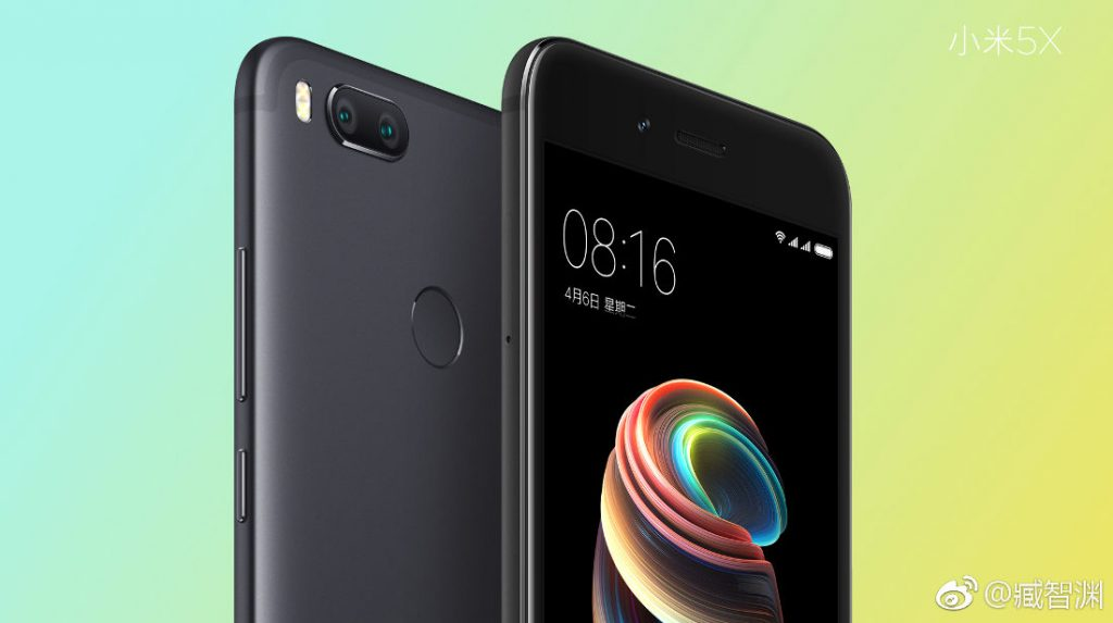 Xiaomi Mi 5x With 5 5 Inch 1080p Display Snapdragon 625