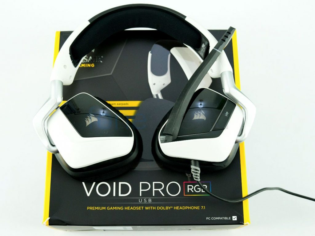 Corsair VOID PRO RGB USB Gaming Headset Unboxing | The Sheen