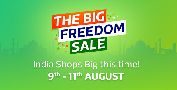 Flipkart Big Freedom Sale Aug 9 2017