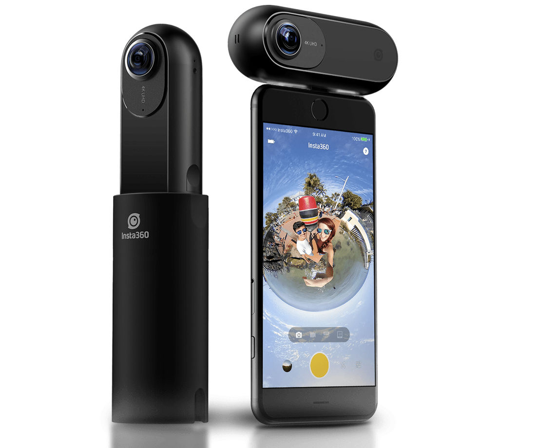 Insta360 One 4k 360 Camera Will Let You Shoot First And