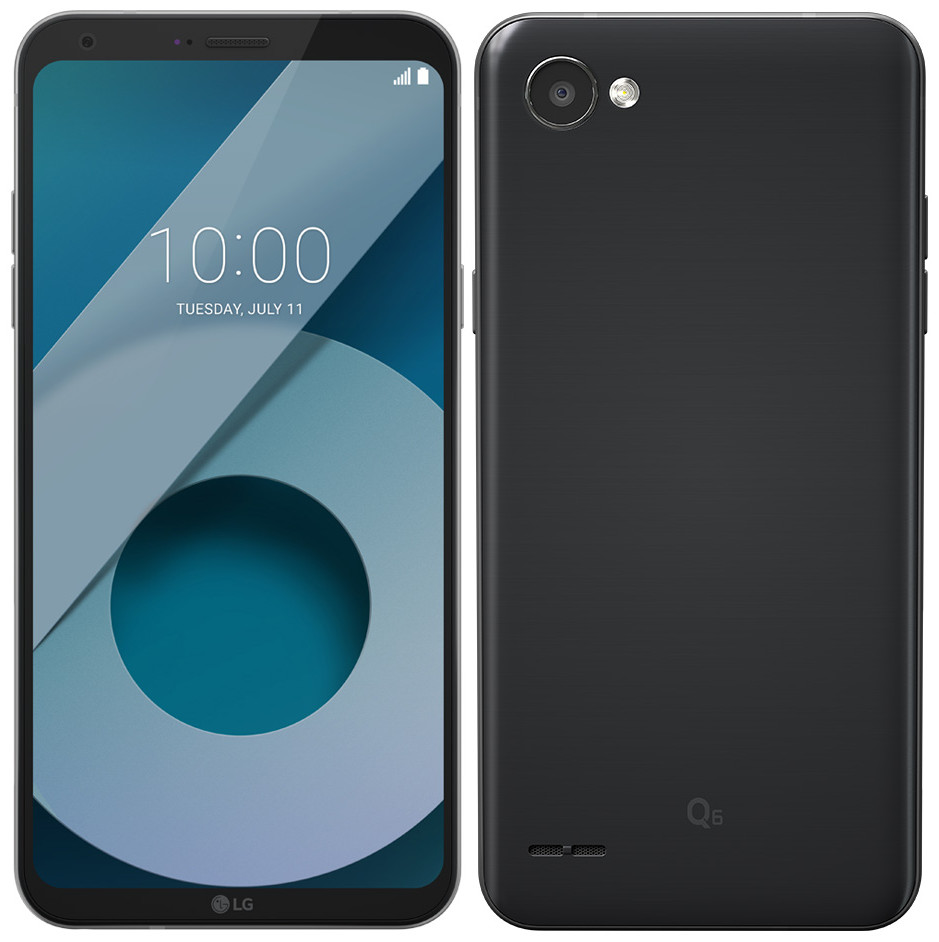 Image result for LG Q6 with FullVision display unveiled in India at Rs 14,990