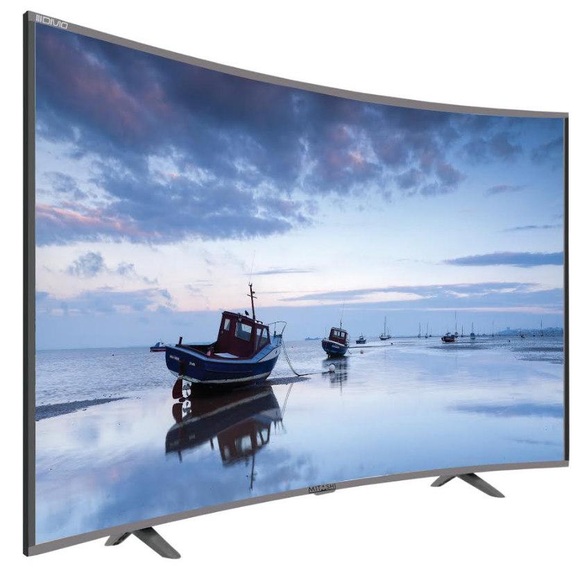 Mitashi 32-inch Curved LED Smart TV