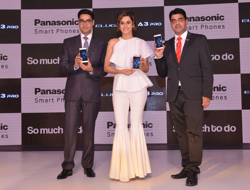 Panasonic A3 and A3 Pro launch Taapsee Pannu