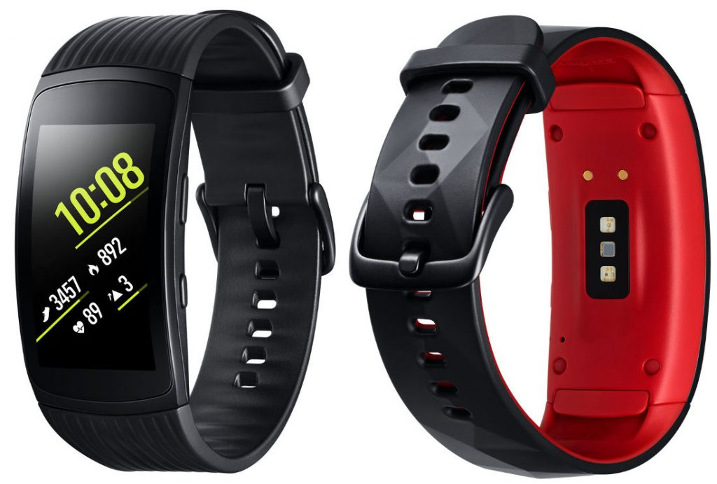 samsung gear fit2 pro with swim tracking gps and heart. Black Bedroom Furniture Sets. Home Design Ideas