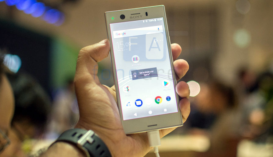 Sony Xperia XZ1 Compact Hands On and Photo Gallery