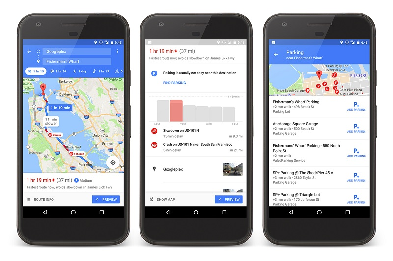 Google Maps Makes It Easier To Find Parking With Latest Update - Google Maps Us 101