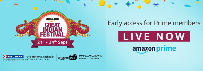 Amazon Great Indian Festival Early access